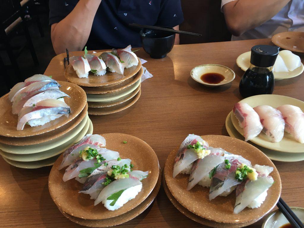 kamesho kurukuru sushi beppu