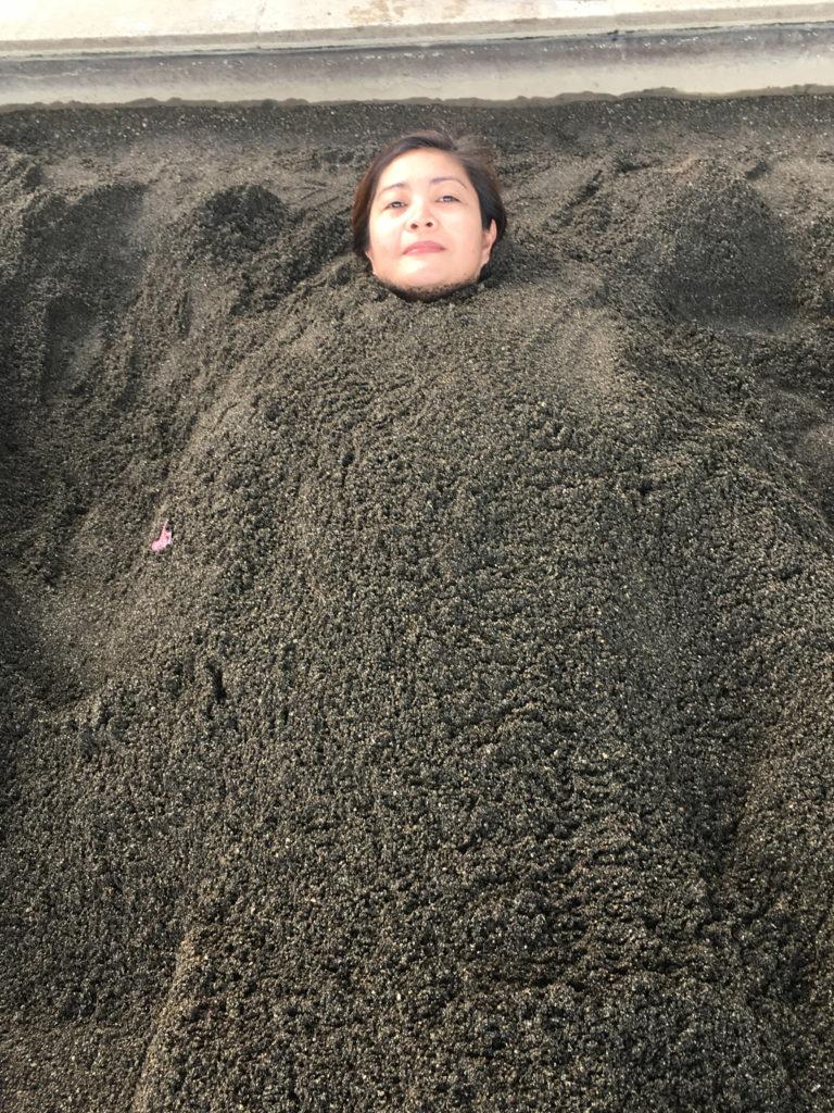 sandbath in Beppu